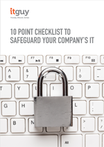 10 Point Checklist to safeguard your Company's IT | Cyber Security | IT Managed Support | Computer Security | London