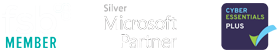 FSB Accreditated Member | Silver Microsoft Partner | Cyber Essentials Plus